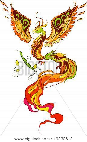 Phoenix vector illustartion