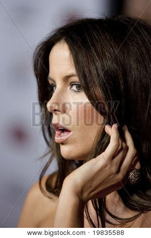 HOLLYWOOD, CA. - NOVEMBER 3: Kate Beckinsale attends the AFI Fest premier of Everybody's Fine on November 3, 2009 at The  Grauman's Chinese Theater in Hollywood.