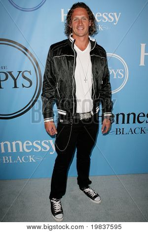 HOLLYWOOD, CA. - JULY 13: USA Olympic Swimmer Ryan Lochte attends Fat Tuesday at The ESPYs on July 13, 2010 in Hollywood, Ca.
