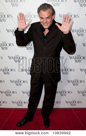 LOS ANGELES. - NOVEMBER 19:  Danny Huston attends the special screening of The Warriors Way on November 19, 2010 at  CGV Cinemas in Los Angeles, CA.