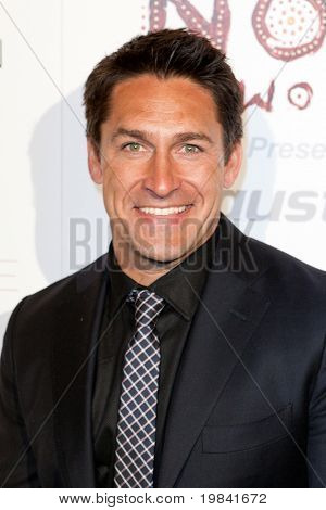 SANTA MONICA, CA. - FEB 22: Australian landscaper and television personality Jamie Durie arrives at the Nomad Two Worlds Los Angeles debut gala at 59 Pier Studios West on Feb 22, 2011 in Santa Monica, CA.