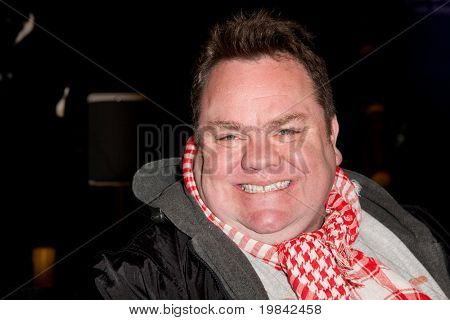 LOS ANGELES, CA. - MARCH 7: Preston Lacy arrives at Paramount Studios to celebrate the release of the Jackass 3 Blu-ray and DVD debut on March 7th 2011 in Los Angeles.
