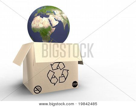 Recycled Planet Earth
