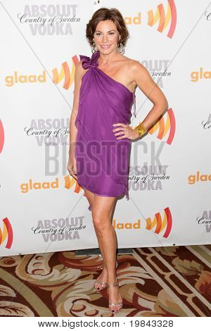 LOS ANGELES, CA. - APR 17: Countess LuAnn de Lesseps arrives at the 21st Annual GLAAD Media Awards at Hyatt Regency Century Plaza Hotel on April 17, 2010 in Los Angeles, CA.