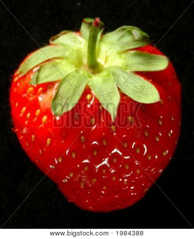 Top View Of Strawberry 1
