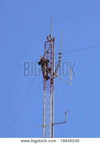 intervention on a pylon