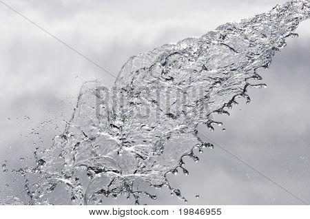 Wasser-Strömung