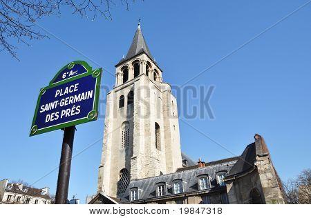 Place Saint-Germain des Prés in Paris