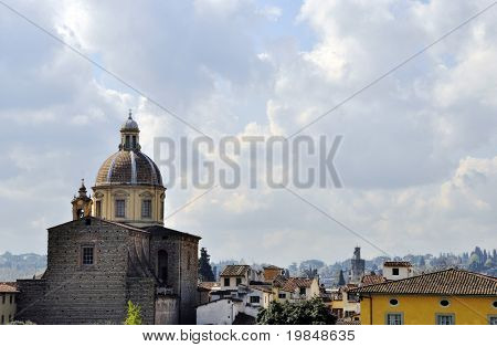 San Frediano in Cestello church in Florence, Italy