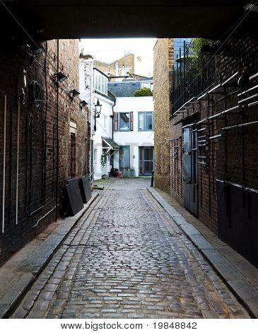 A courtyard in London, UK