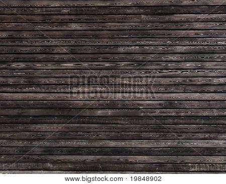 Dark wood wall background