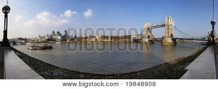 London panorama, UK