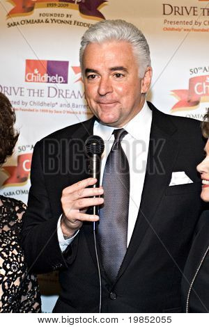SCOTTSDALE, AZ - JANUARY 10: Family Feud host John O'Hurley at the Childhelp Drive the Dream Gala on January 10, 2009 in Scottsdale, AZ.