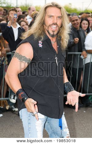 TEMPE, AZ - APRIL 27: American Gladiator star Wolf (Don