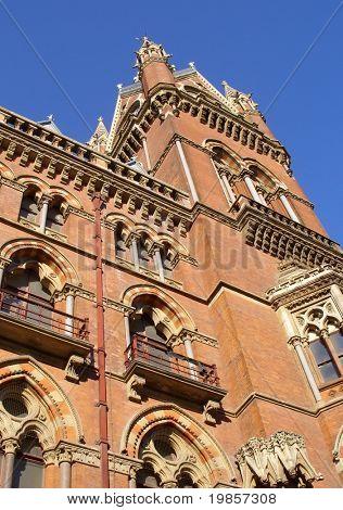 Victorian building design.