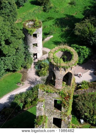 Aerial View Of Blarney Towers