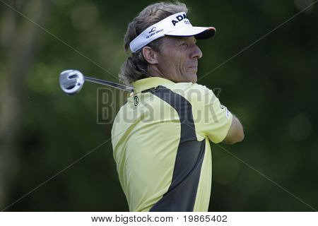 Bernhard Langer of Germany at the PGA European Tour BMW Open Golf Munich Germany 19 - 22 June 2008 at the Golf Club Munchen Eichenried