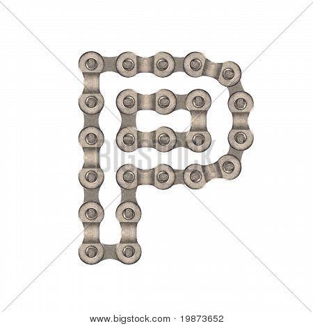 Chain alphabet