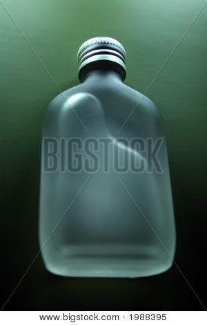 Green Toiletry Bottle