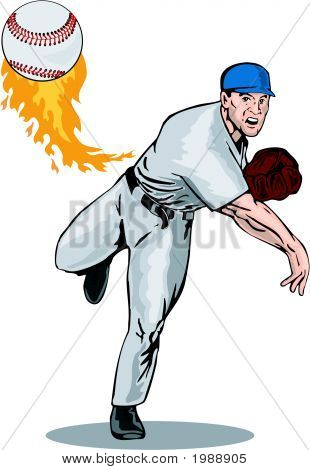 Pitcher Pitching Front