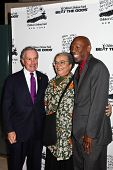 NEW YORK - DECEMBER 06: (L-R) Michael Bloomberg, Marian Wright Edelman and  Geoffrey Canada attend t