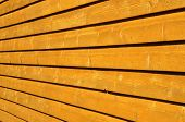 stock photo of arriere-plan  - Orange wall - JPG