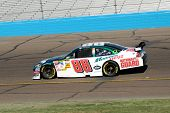 AVONDALE, AZ - NOV 7 - Dale Earnhardt Jr. (88) competes in the NASCAR Sprint Cup Series at the Phoen