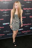 HOLLYWOOD, CA. - NOV 21: Avril Lavigne arrives at the 2010 American Music Awards Rolling Stone Magaz