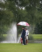 England's David Howell competeing at the PGA European Tour BMW Open Golf Munich Germany 19 - 22 June