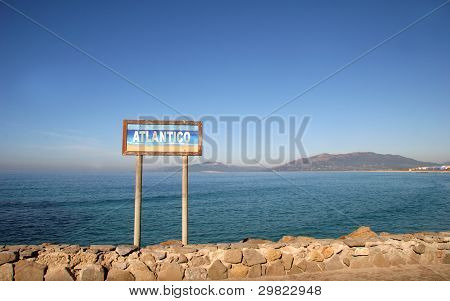 Strait of Gibraltar - Tarifa, Spain