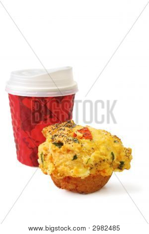 Take Out Cofffee And Muffin