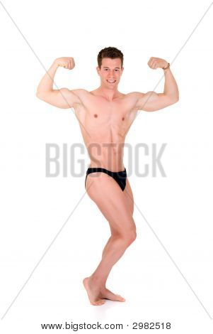 Body Builder, Contest Pose