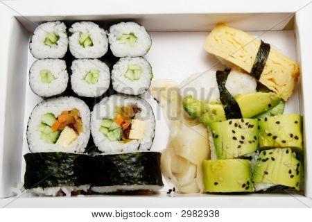 Bento - Vegetarian Sushi