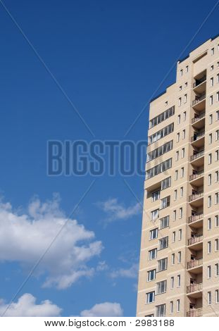 Inhabited Building And The Sky
