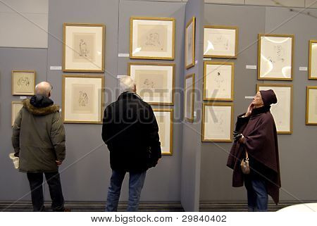 Denmark_john Lennon Drawing Exhibitions