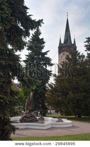 St. Nicholas church in Presov