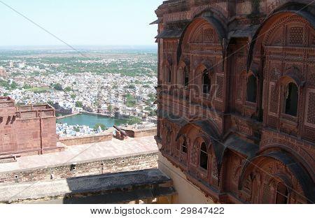 Meherangarh Fort in Jodhpur, India