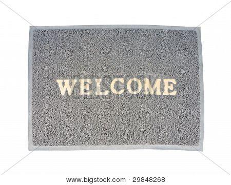 Old Welcom Doormat