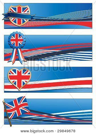 Banderas del Reino Unido