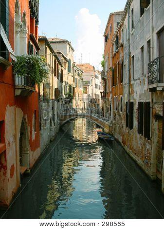 Venice Street. Italy