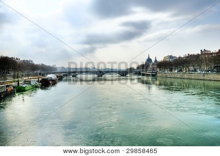 Early Morning On The Rhone River