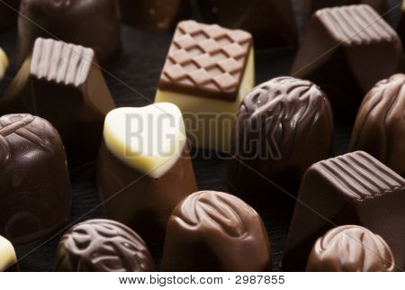 Sweet Chocolate Pralines