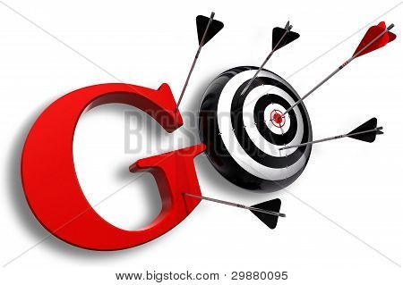 Go Red Word And Conceptual Target