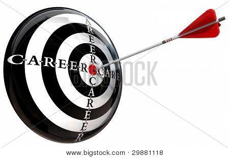 Career Target Conceptual Image