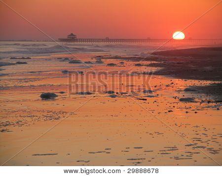 Sunset praia do insensatez, SC