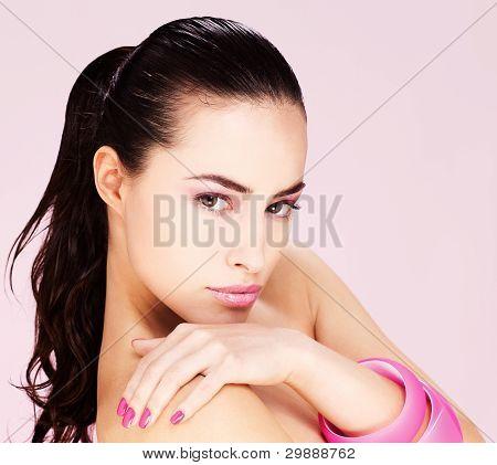 Black Hair Woman