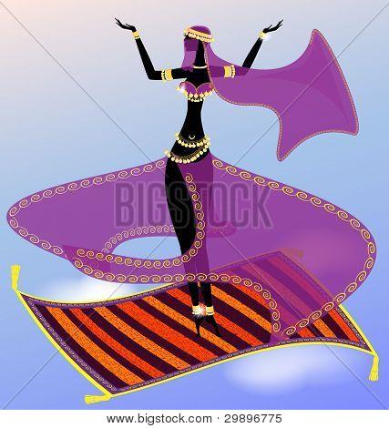 Fee orientalische Tänzerin
