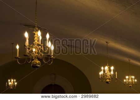 Church Ceiling Chandelier