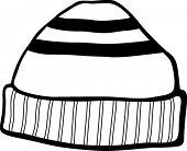 image of beanie hat  - beanie hat - JPG