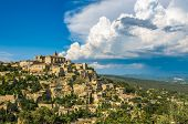Provencal Village Of Gordes,  South Of France poster
